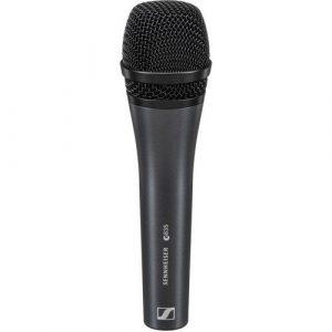 Micrófono Sennheiser E-835 Dinámico Cardioide Negro