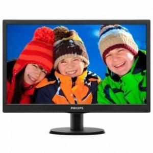 """PHILIPS 19"""" LCD con HDMI VGA SmartControl Lite"""